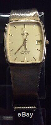 OMEGA Seamaster Vintage Sterling Quartz Swiss Made Wrist Watch