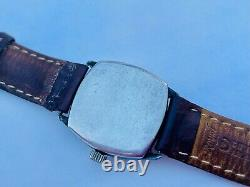 OMEGA VINTAGE WATCH FROM 1920s STERLING SILVER CASE SWISS MADE
