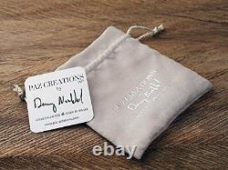 OR PAZ. 925 Sterling Silver Bold Curb Link Bracelet, Made in Israel