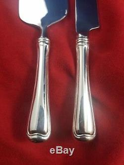 Old French by Gorham Sterling Cake Knife and Cake Server Set Custom Made