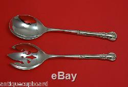 Old Master by Towle Sterling Silver Salad Serving Set 2pc HHWS Custom Made