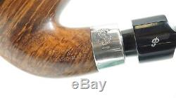 PIPEHUB New! Peterson Hand Made XXL Pipe with Sterling Silver Mount Unsmoked