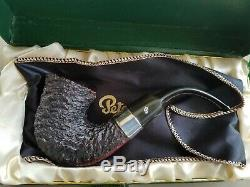 Peterson Original Sherlock Holmes Pipe New In Box Made In 1987 Sterling Silver