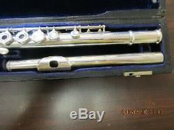 Powell Handmade Commercial Model Flute, Open Hole B-Foot made in 1964