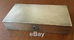 Rare Sterling Silver Omega Watch Seamaster Constellation Box Made in England