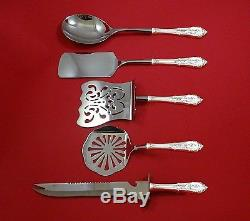 Rose Point by Wallace Sterling Silver Brunch Serving Set 5pc HHWS Custom Made