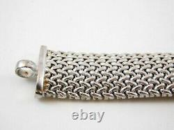 Ross Simons Sterling Silver Riso Bracelet Made in Italy 925 with Original Box