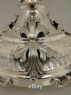 Sterling Silver Candelabra Stunning Made In Italy 10 Branch