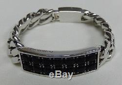 Stunning Pianegonda Sterling Silver 925 Heavy Link Bracelet Made In Italy