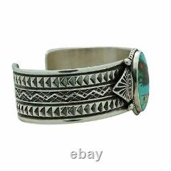 Sunshine Reeves, Bracelet, Royston Turquoise, Traditional, Navajo Made, 6 3/4