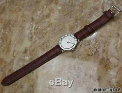 Tiffany & Co Atlas 925 Solid 925 Silver Swiss Made Quartz Men 31mm Watch JL116