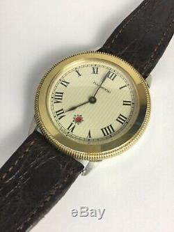 VINTAGE FORTIS HARWOOD 1926 AUTOMATIC WATCH STERLING SILVER SWiSSMADE