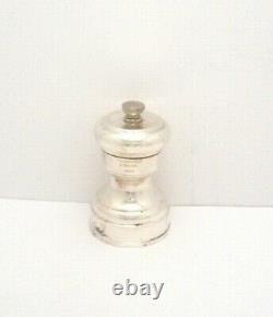 Vintage Sterling Silver TIFFANY Co. Salt Shaker & Pepper Shaker. Made in Italy